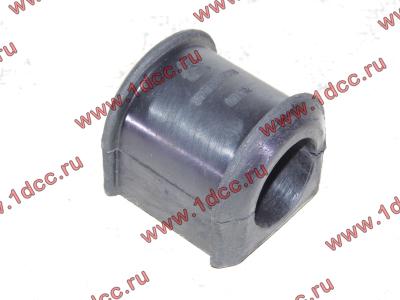 Втулка резиновая для переднего стабилизатора (к балке моста) H2/H3 HOWO (ХОВО) 199100680068 фото 1 Иваново
