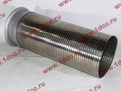 Гофра-труба выхлопная 6х4 с юбкой H2/H3 HOWO (ХОВО) WG9725540053 фото 1 Иваново