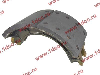 Колодка тормозная задняя с накладками H2/H3 HOWO (ХОВО) WG199000340061 фото 1 Иваново