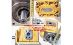 Насос гидравлический рабочего оборудования одинарный (под шпонку) CDM855