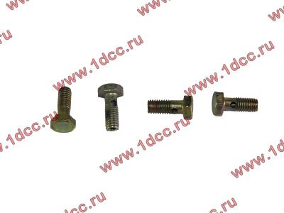Болт пустотелый M6 обратки с форсунок H2 HOWO (ХОВО) VG1500080090 фото 1 Иваново