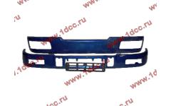 Бампер C синий верхний+нижний (в сборе) фото Иваново