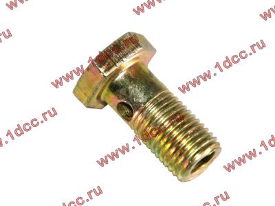 Болт пустотелый М12х1,25 (штуцер топливный) H HOWO (ХОВО) 90003962607 фото 1 Иваново