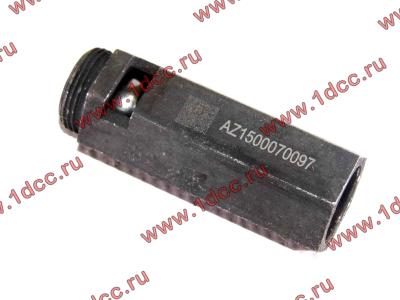 Клапан предохранительный главной масляной магистрали двигателя H HOWO (ХОВО) VG1500070097 фото 1 Иваново