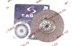 Диск сцепления ведомый 420 мм SAGES H2/H3 фото Иваново