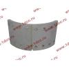Колодка тормозная задняя с накладками H2/H3 HOWO (ХОВО) WG199000340061 фото 2 Иваново
