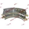 Колодка тормозная задняя с накладками H2/H3 HOWO (ХОВО) WG199000340061 фото 3 Иваново