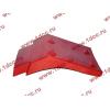 Брызговик передней оси правый H2 красный HOWO (ХОВО) WG1642230004 фото 3 Иваново