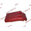 Брызговик передней оси правый H3 красный HOWO (ХОВО) WG1642230104 фото 4 Иваново