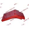 Брызговик передней оси правый H2 красный HOWO (ХОВО) WG1642230004 фото 4 Иваново